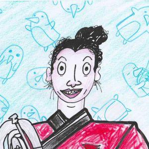 Reddit Gets Drawn Portrait by Rory Doyle